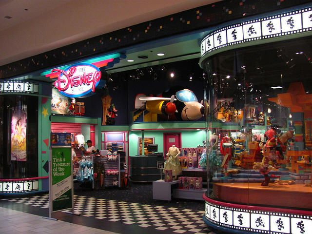 I Miss The Disney Store At The Mall Which Looked Exactly