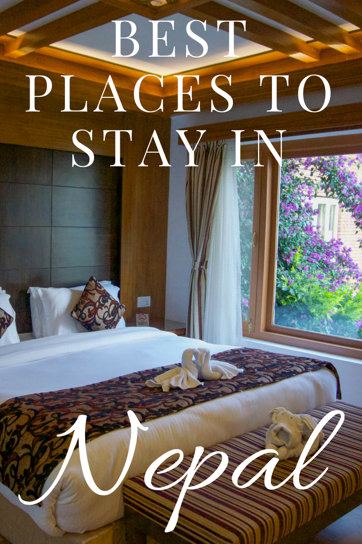 Best places to stay in nepal in discover nepal pinterest