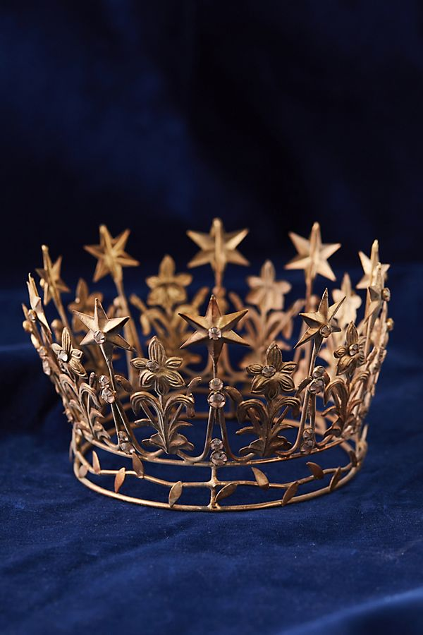 Starry Crown, Large | Diy tree topper, Cool christmas ...