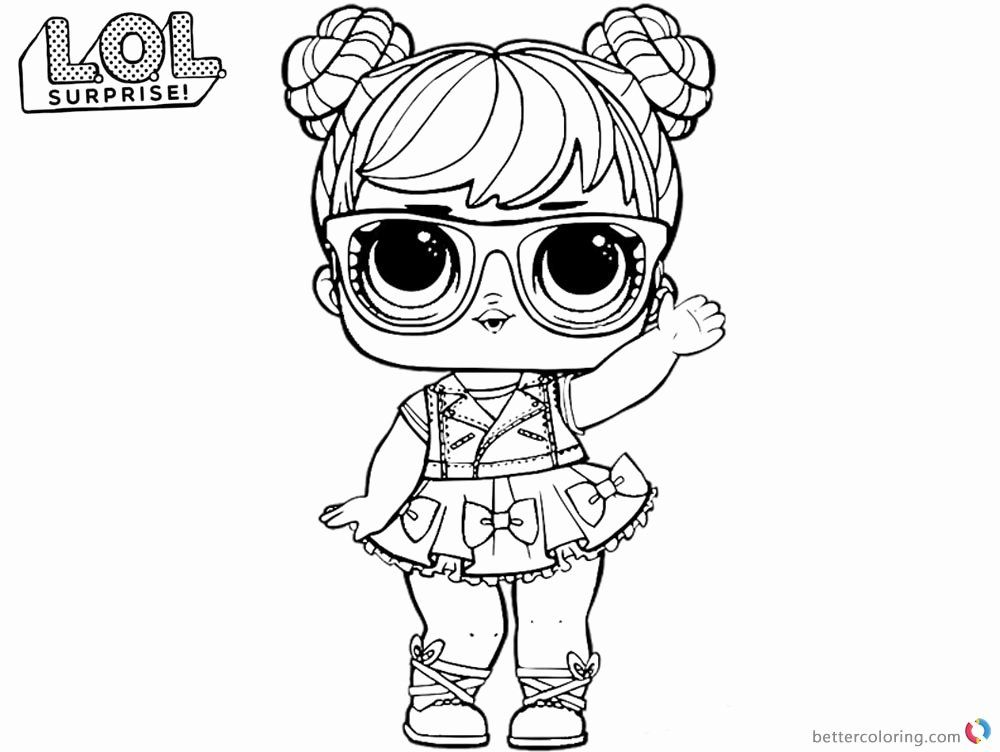 Lol Dolls Coloring Page Beautiful Lol Coloring Pages Big Eyes Doll Free Printable Coloring In 2020 Unicorn Coloring Pages Coloring Pages Baby Coloring Pages