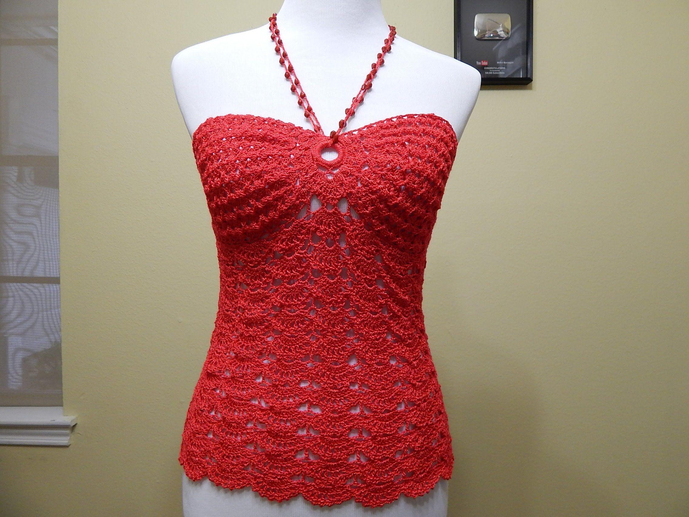 Tutorial para tejer esta blusa muy facil y practica para hacerla ...