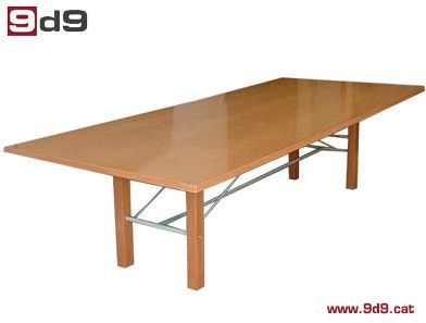 Mesa reuni n de segunda mano para oficina fabricada en for Mesas de oficina segunda mano