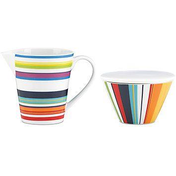 LENOX Your Home: Coffee & Tea Accessories - DKNY Urban Essentials Sugar & Creamer