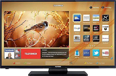 Telefunken D39f275m3c Led Fernseher 99 Cm 39 Zoll 1080p Full Hd Smart Tv Led Fernseher Fernseher Zoll