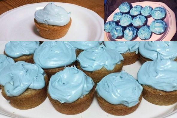 Vegan Blueberry Cupcakes