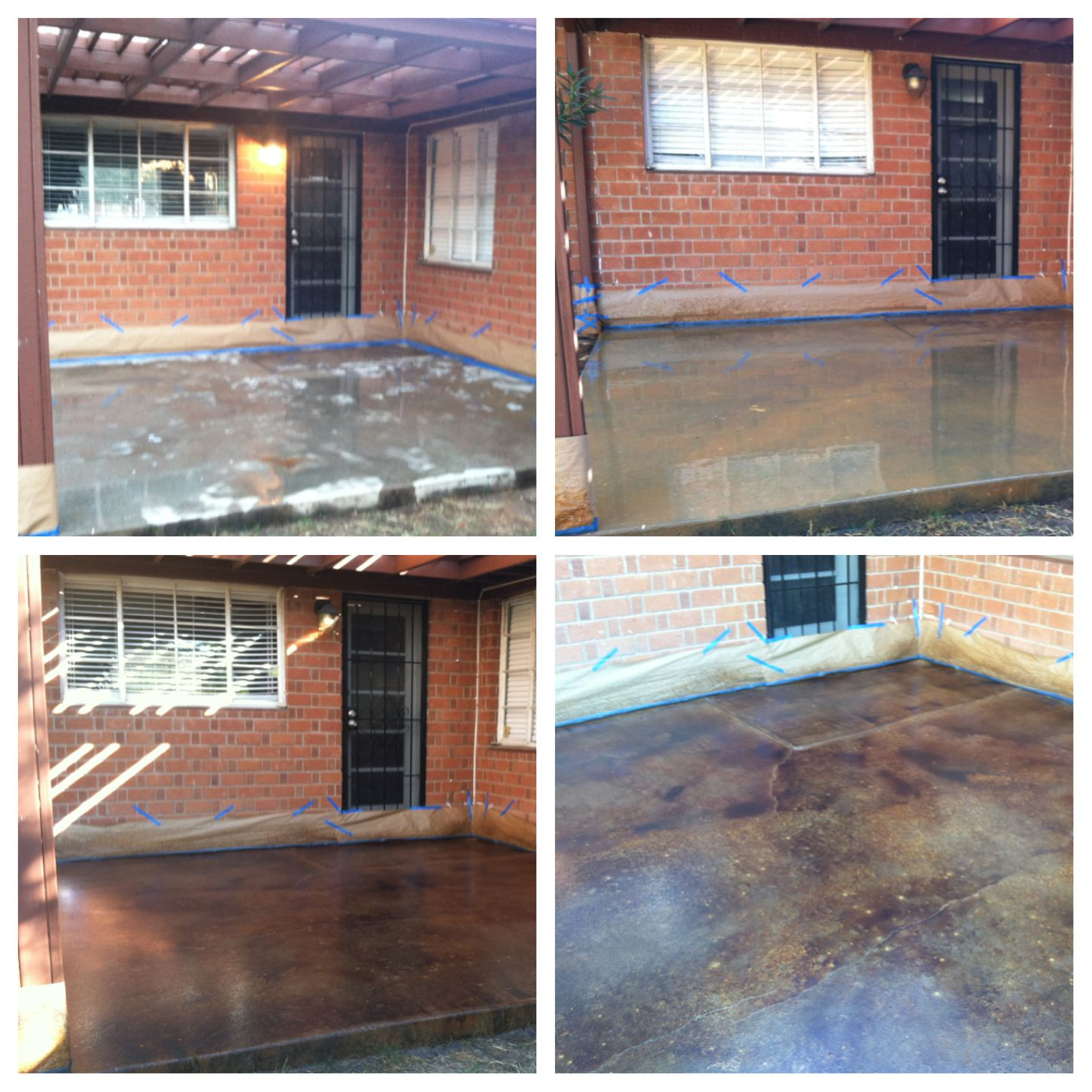 DIY stain concrete floor home depot stain concrete flooring 1