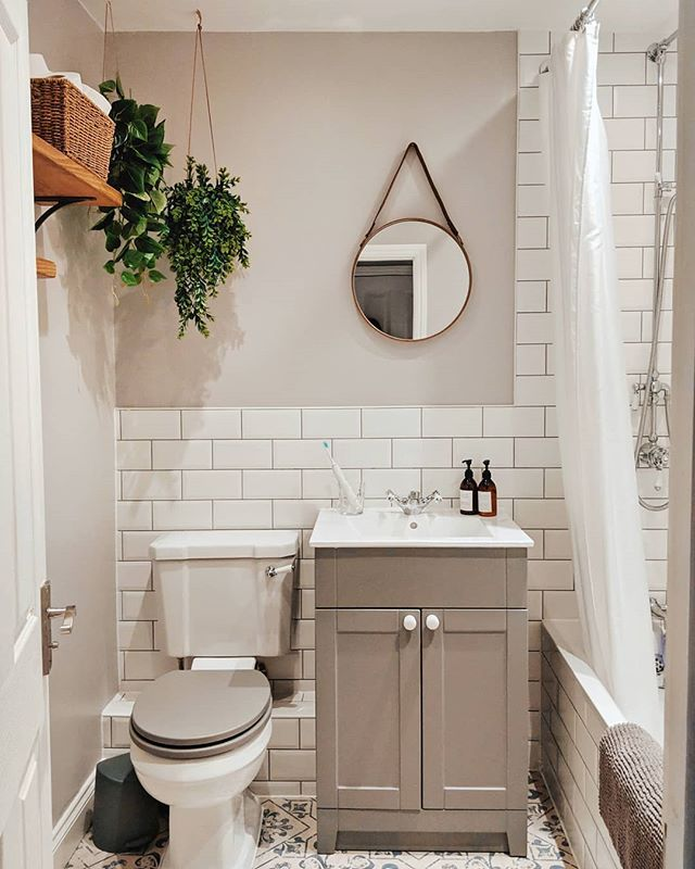 How to design a small bathroom with no window. | Bathroom ...