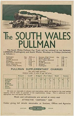 The South Wales Pullman - British Railways -