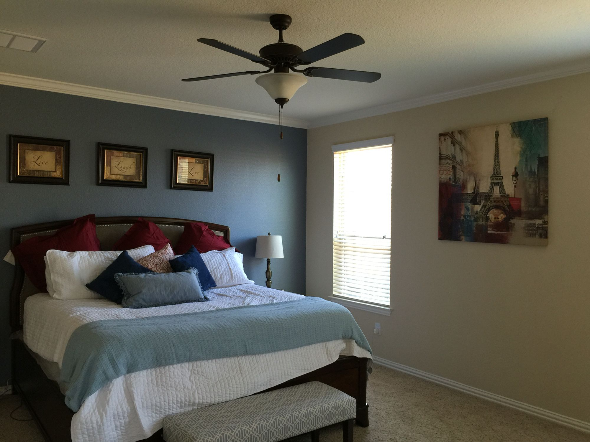 Sherwin Williams Storm Cloud | Master Bedroom/Bath Ideas ...