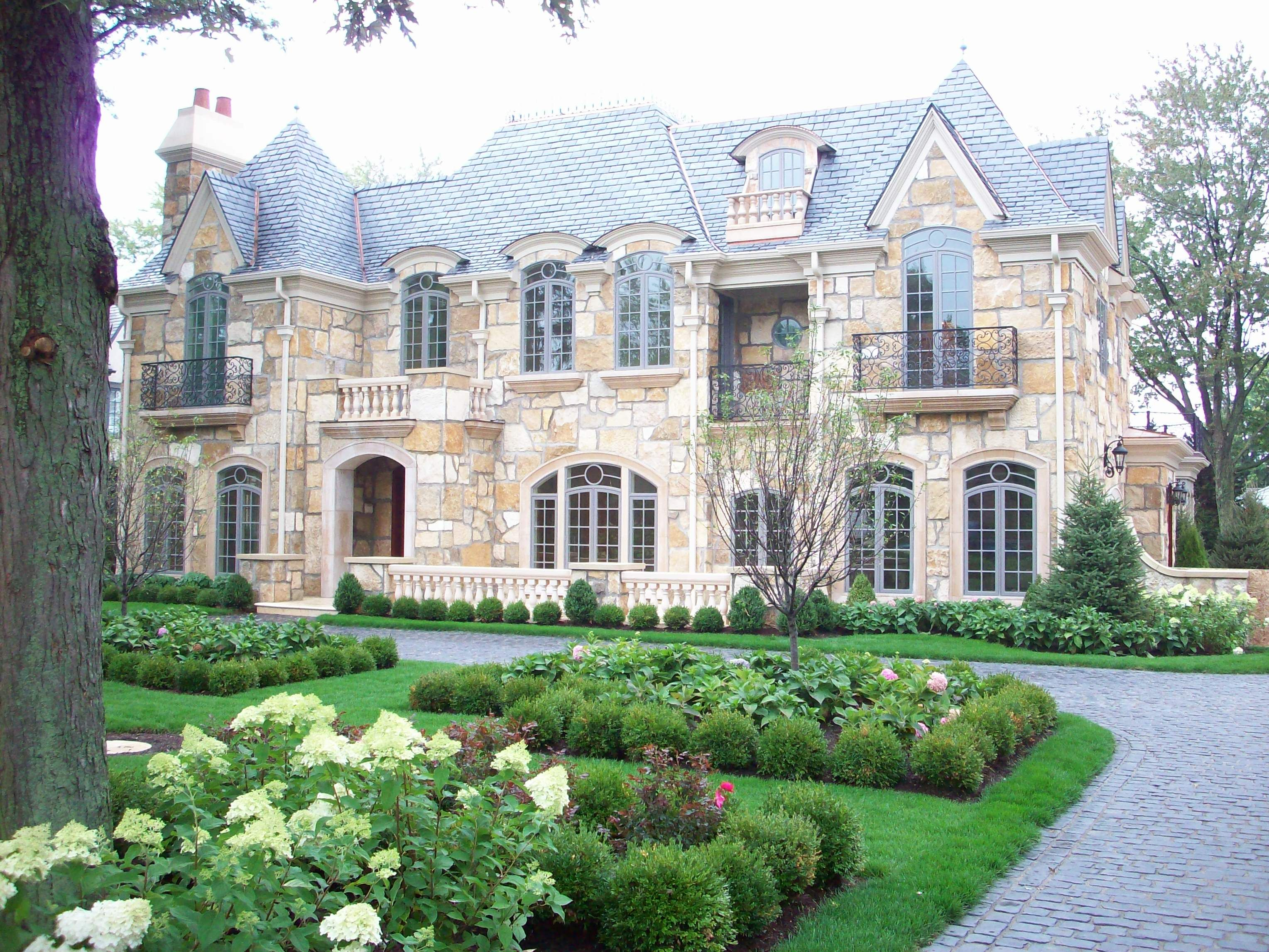 Planting Design - French Formal Garden