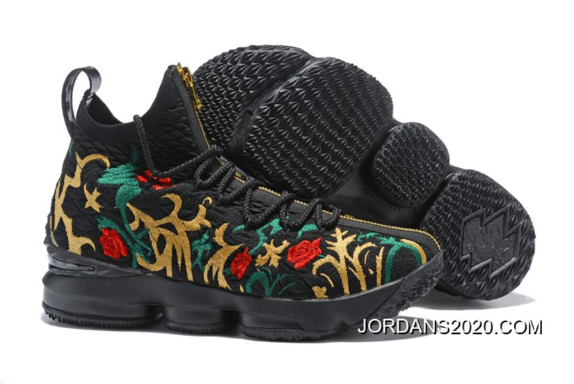 2020 New Year Deals Men S Kith X Nike Lebron 15 King S Crown Long Live The King Black Multi Color Air Jordan Shoes 2020 Michael Jordan Shoes Nike Lebron Nike Shoes Online Nike Men