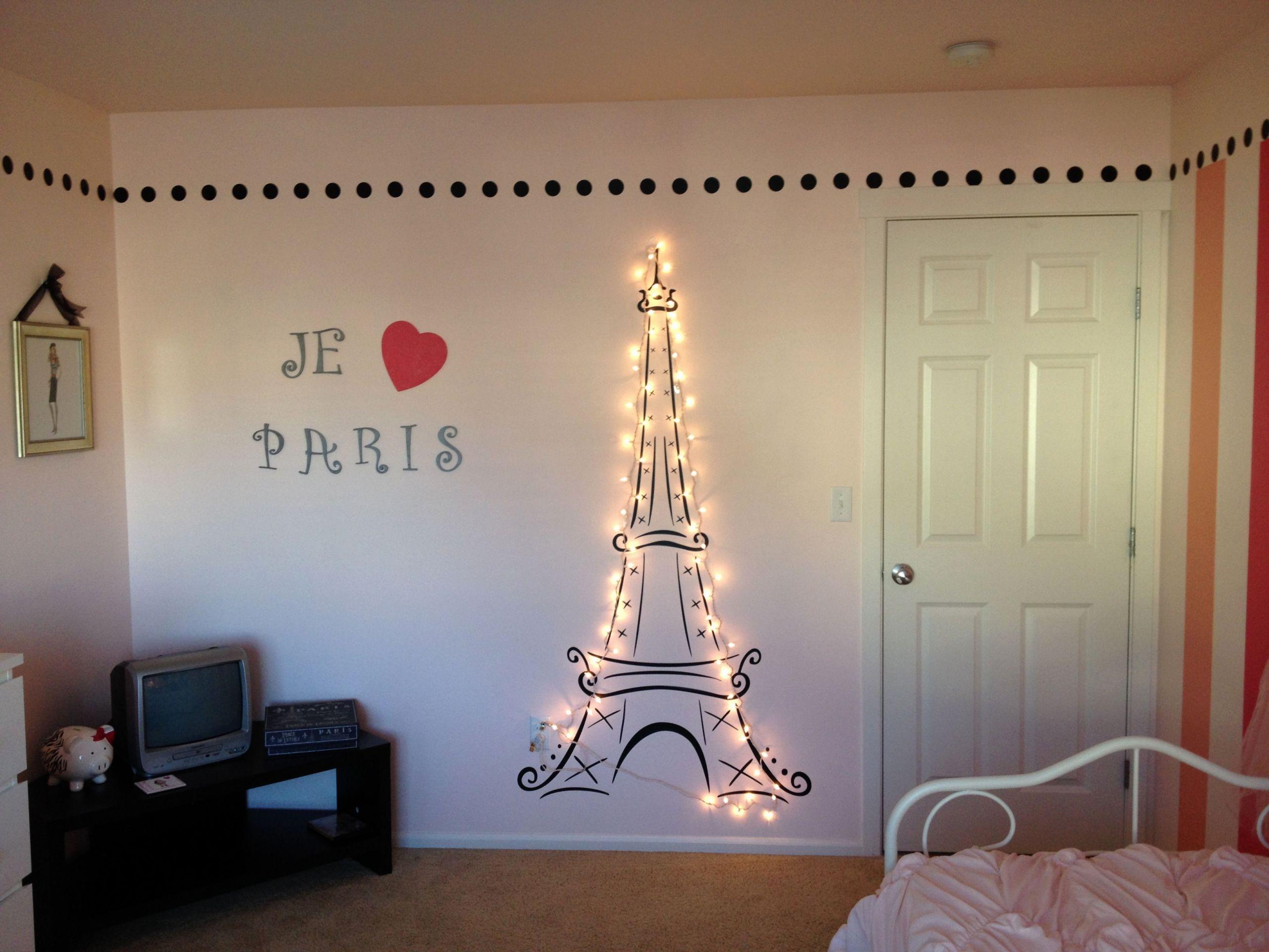 Paris Bedroom Decor Target Fresh Lit Eiffel tower for My Daughter