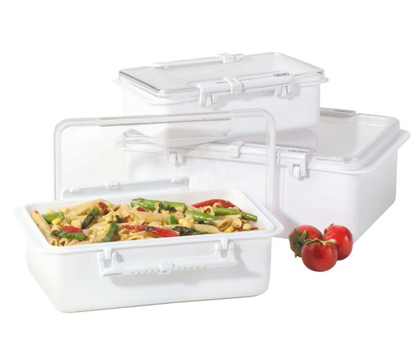 If you stash storage containers in the fridge and freezer and find yourself clueless as to just how long they've been in there, you'll love the sliding mechanism in the clear lid that helps you track the days and months. When you're not using them, you can store these containers inside each other.