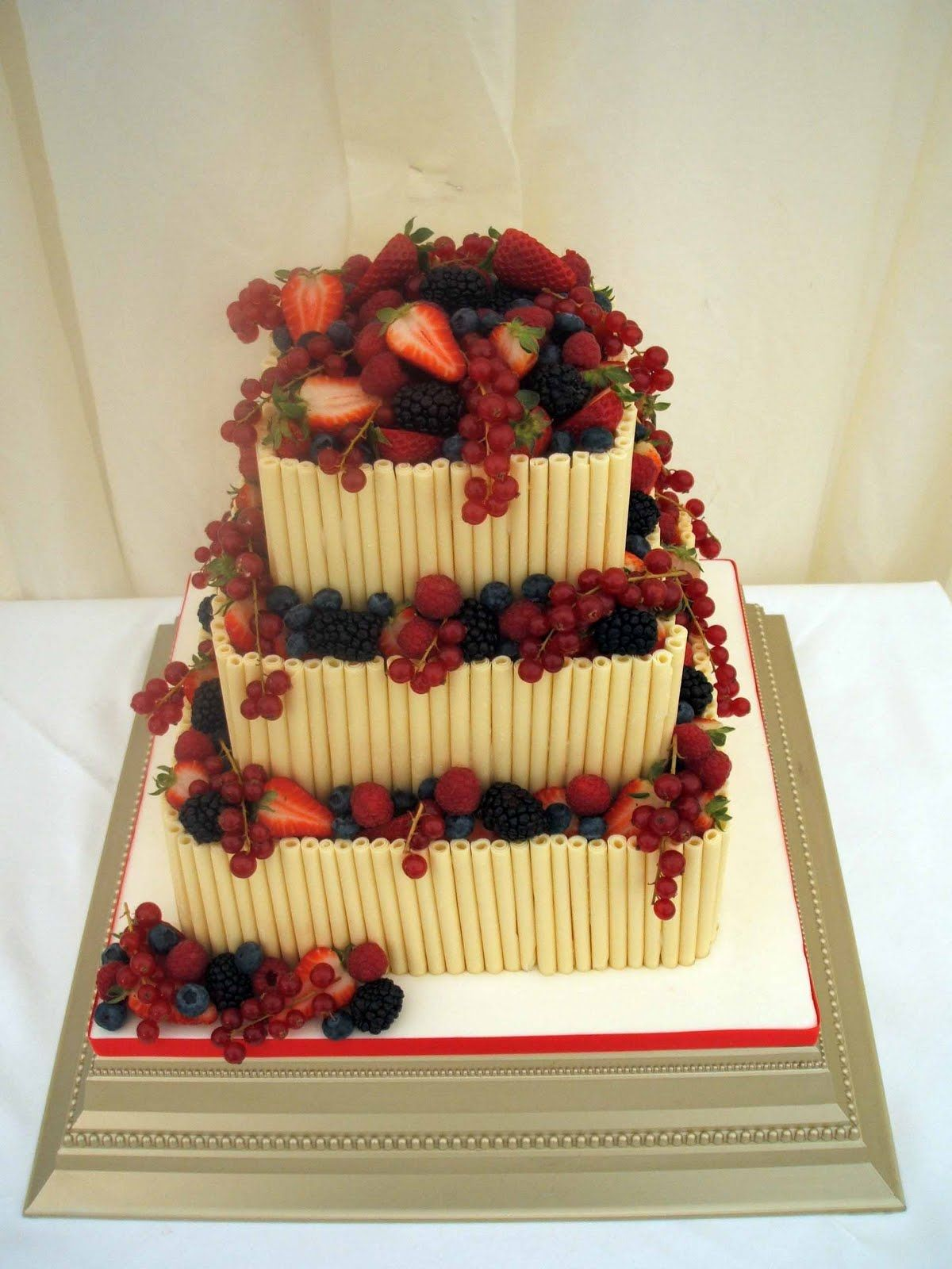 Image result for wedding cake with summer fruits stunning cakes