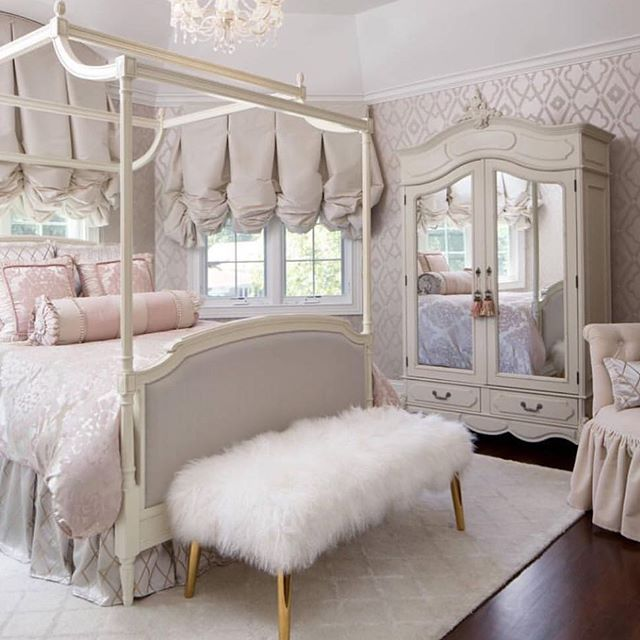 Interior Design Elegant Pink White Gray Baby Girl Room: Cute Little Girl Room @KortenStEiN