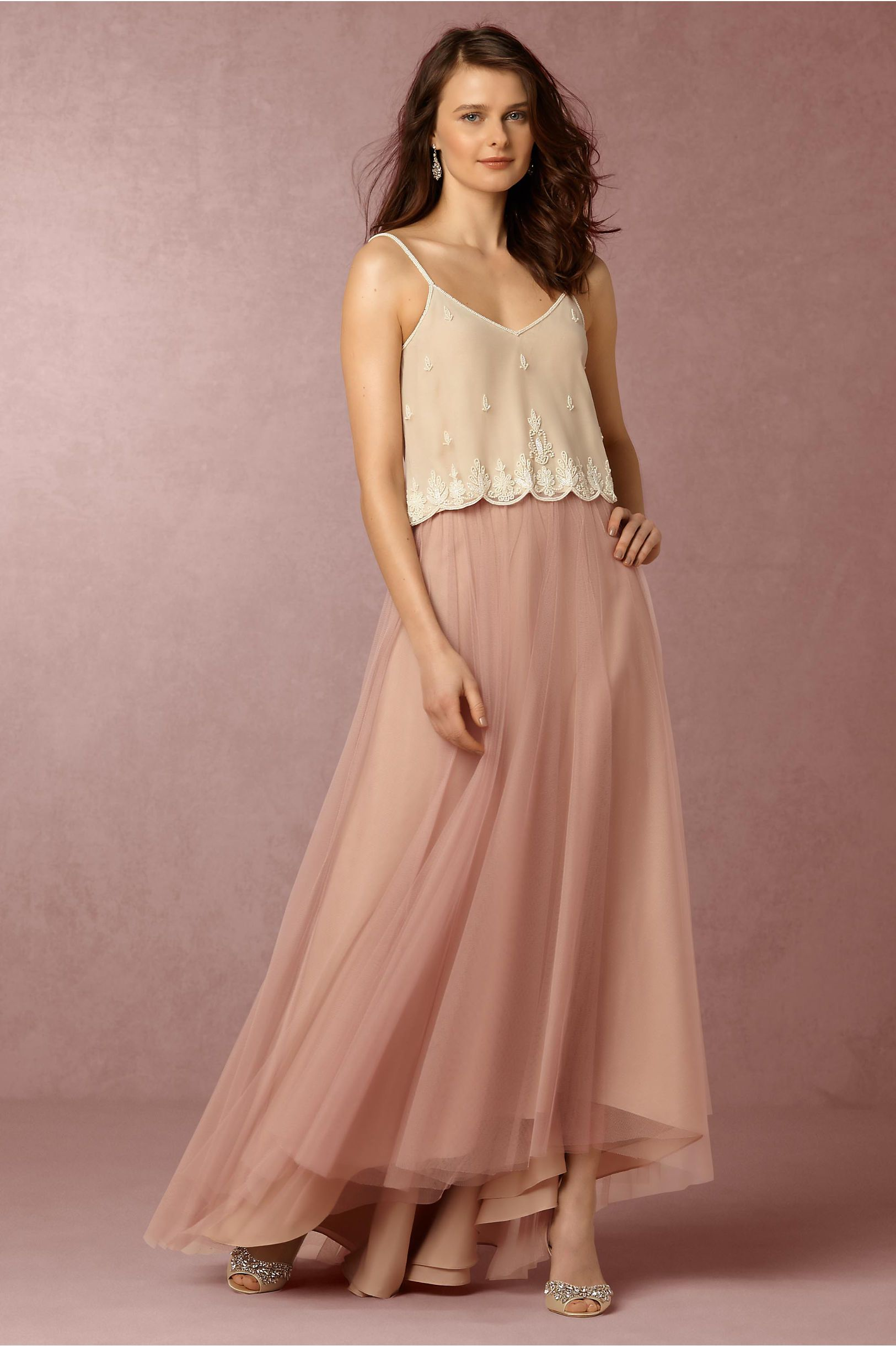 Bhldn carrie top petal skirt in bridesmaids bridesmaid dresses at shop unique bridesmaids dresses at bhldn browse different bridesmaid dress colors and lengths with convertible styles in colors and ways to wear ombrellifo Image collections
