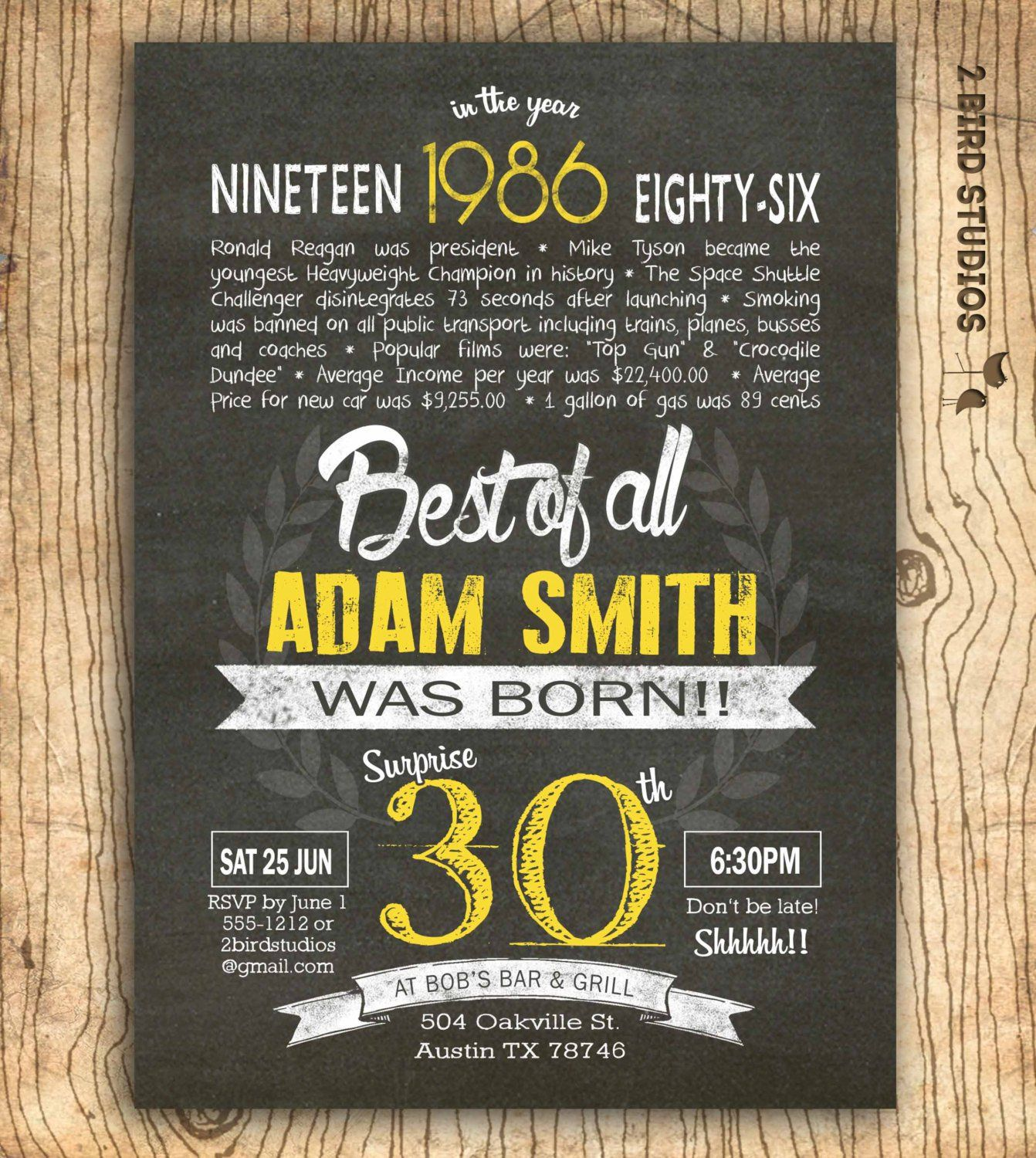30th Birthday Invitations Wording Funny
