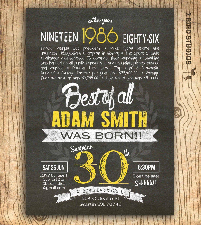 30th Birthday Invitations Wording Funny Funny Birthday Invitations Printable Birthday Invitations 30th Birthday Invitations