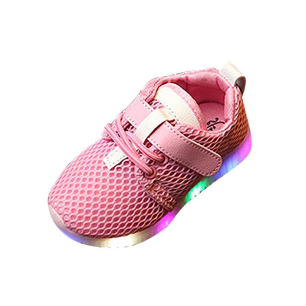 7c2de0e71 LED Baby Boys Girls Shoes kids Light Up Luminous Child Trainers Running  Sneakers  shoes