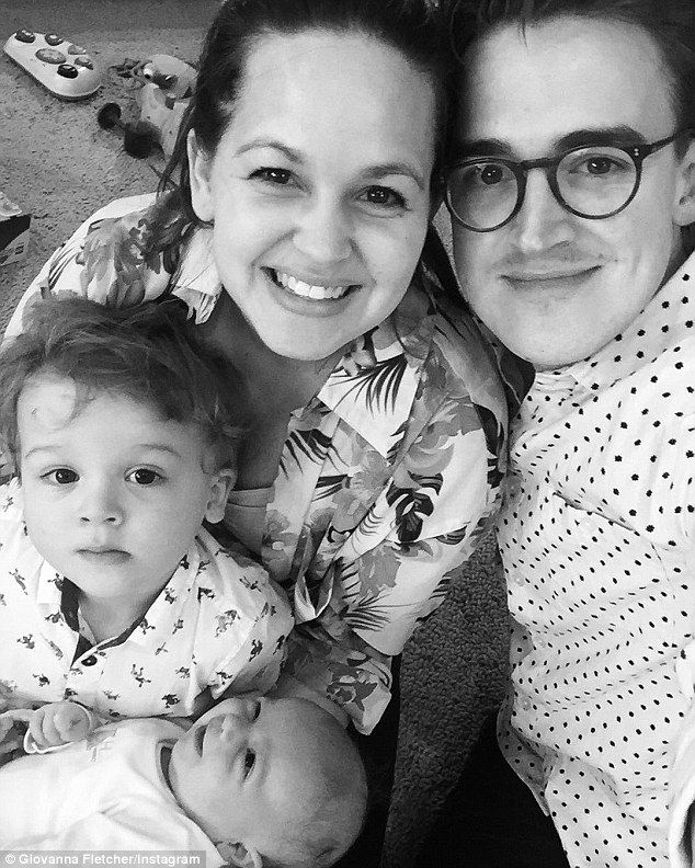 Tom Fletcher's wife Giovanna claims she didn't have to