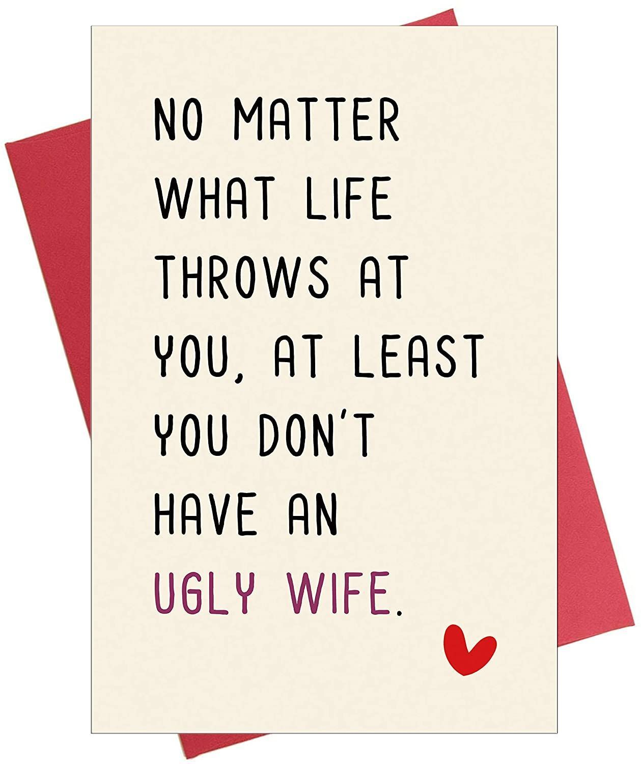 Naughty Anniversary Card, Funny Birthday Card for Him