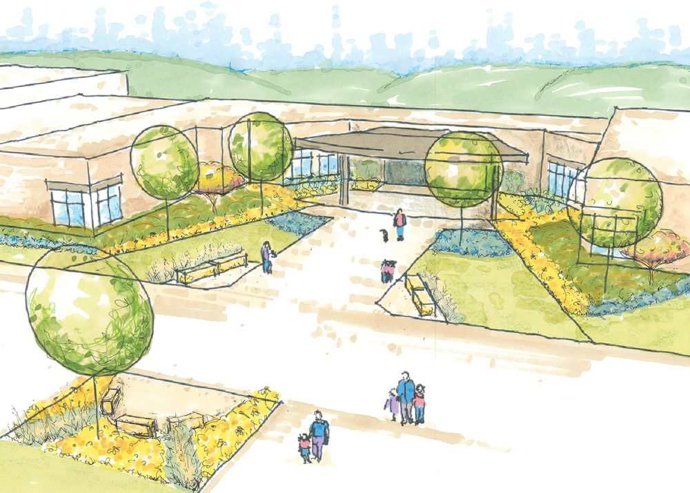 Landscape Hort Students Take On Real World Projects Dctc News Sustainable Garden Landscape Elementary Schools