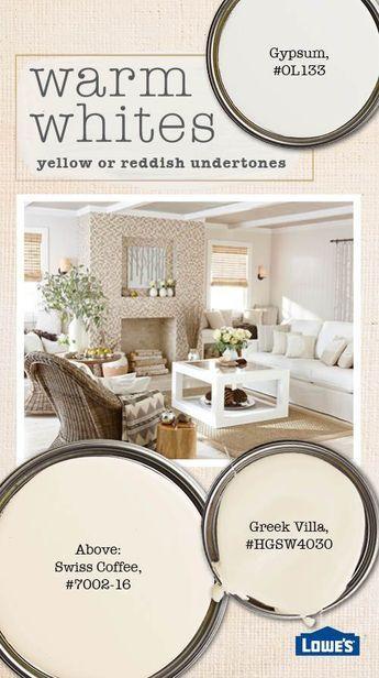 White Paint Color Selection Tips   White paint colors ...