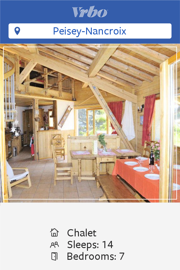 Vacation Chalet in Peisey-Nancroix
