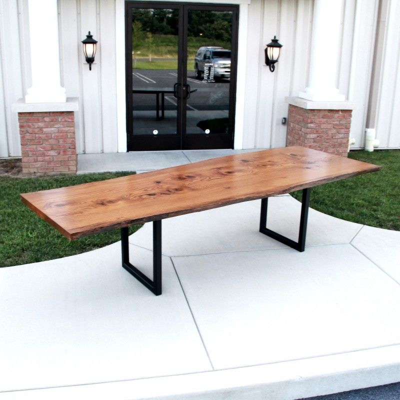 Pin Oak Live Edge Conference Table   Live Edge Furniture   Pinterest ...