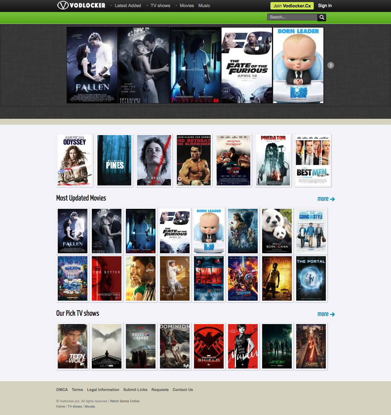 Oldest website to watch movies online vodlocker