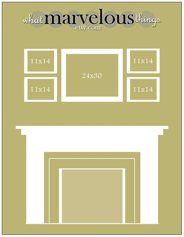Room Design Layout Templates: Wall Display Template 10-pack In 2019