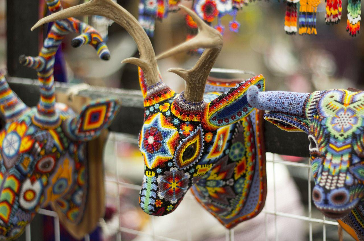 HUICHOL ART Photo San Miguel de Allende Mexico / by @el_jairs