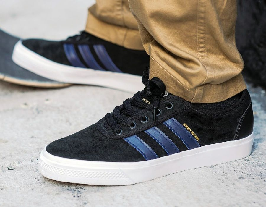 #adidas Adi Ease #StreetMachine Black Blue #sneakers
