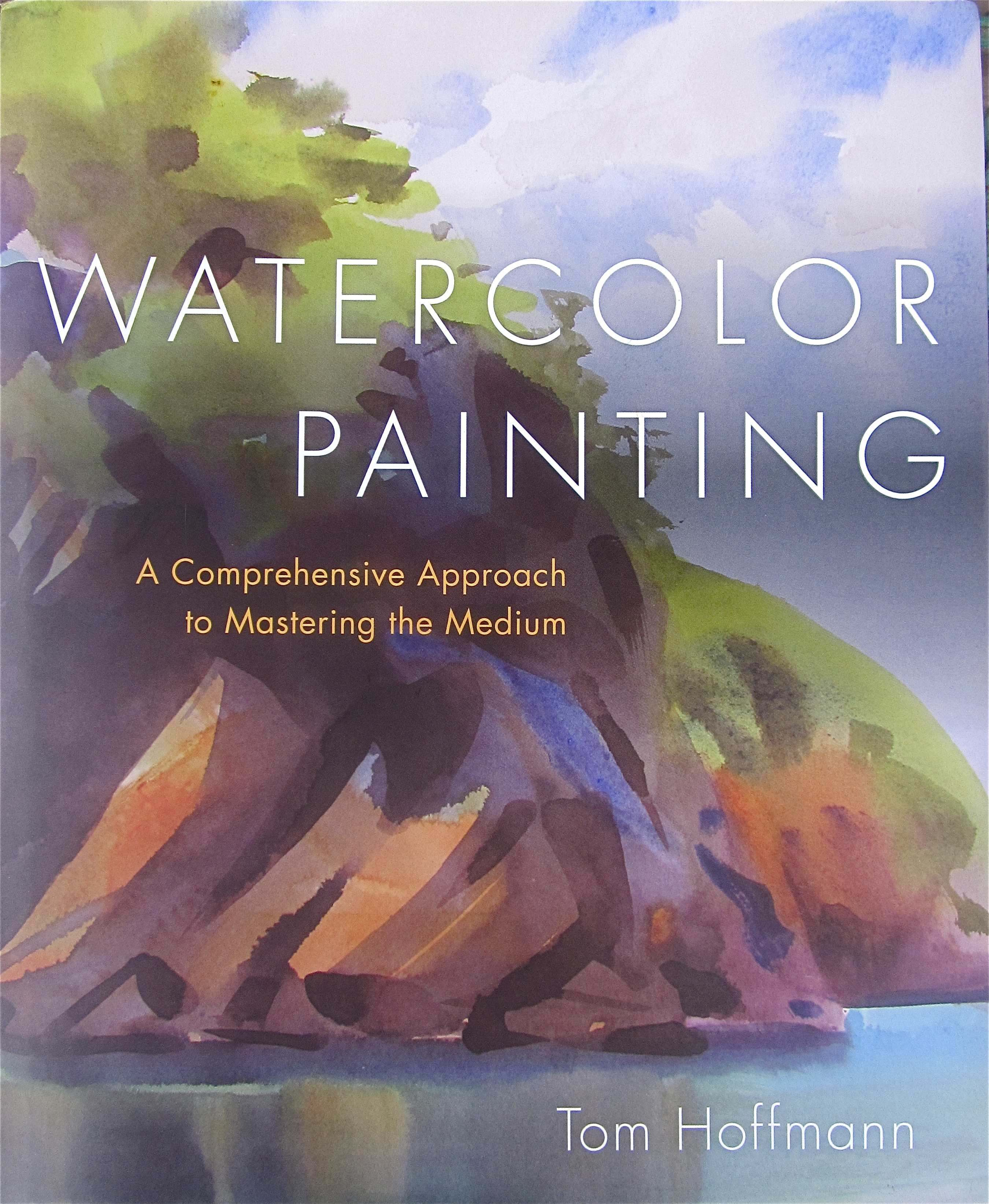 Watercolor book covers - Tom Hoffmann Book Cover Watercolor Painting