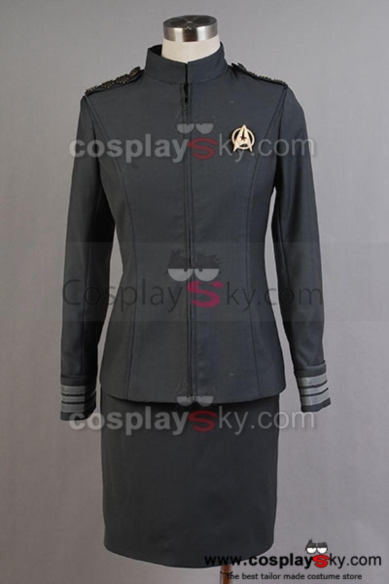 Star Trek Into Darkness Captain Kirk Spock Grey Uniform Costume /<Custom Made/>
