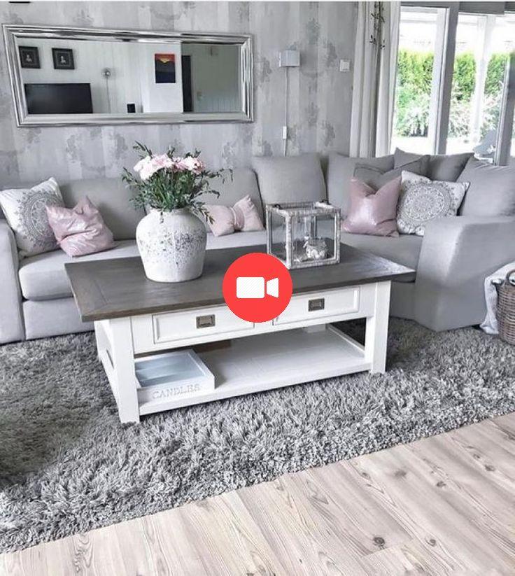 Graue Wände Wohnzimmer: ⭐️ 45+ Fantastische Grau / Graue Wohnzimmer Für