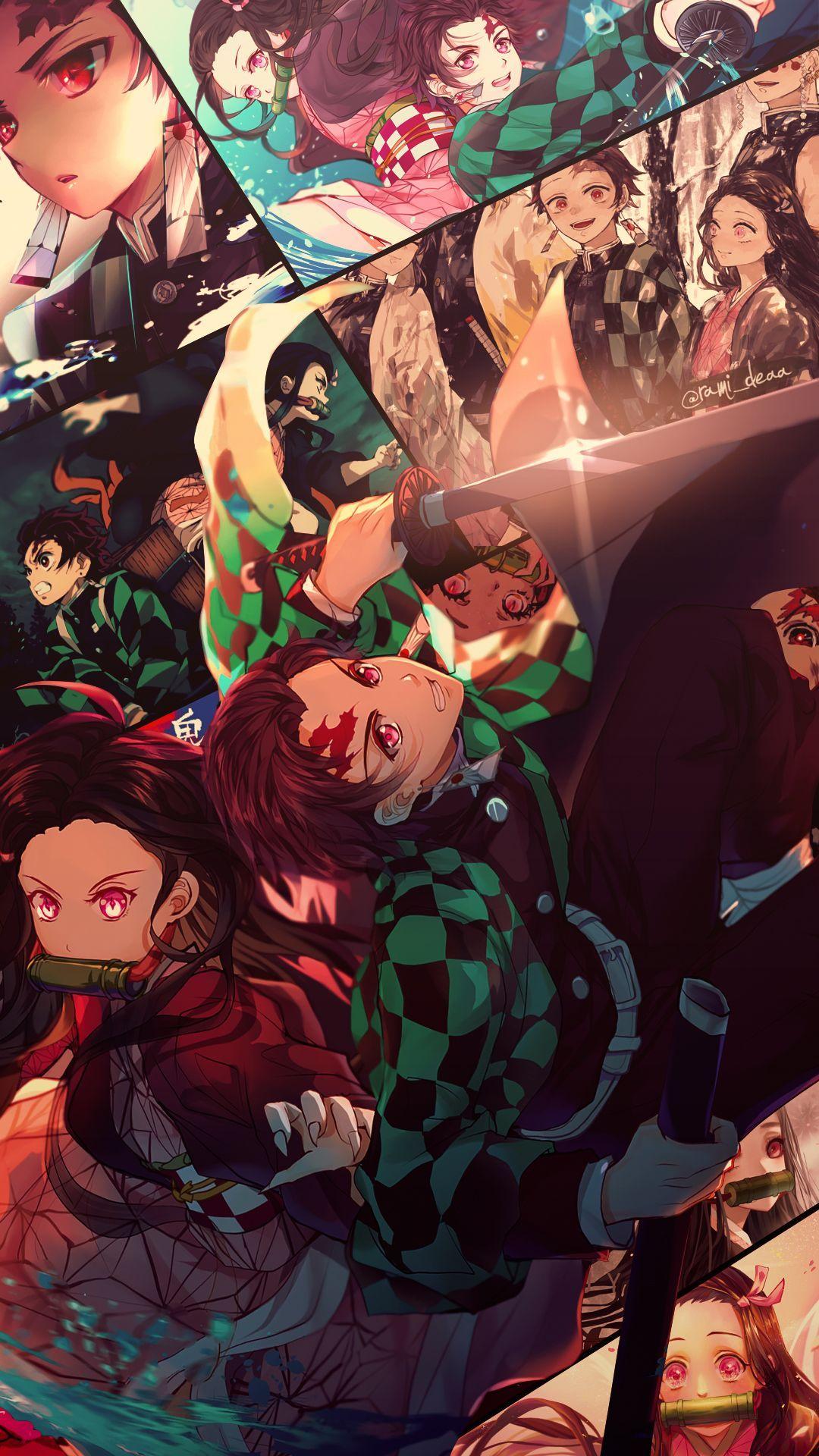 Kimetsu No Yaiba Wallpapers Vertical Anime Kimetsu No Yaiba Anime Anime In 2020 Anime Demon Anime Wallpaper Anime