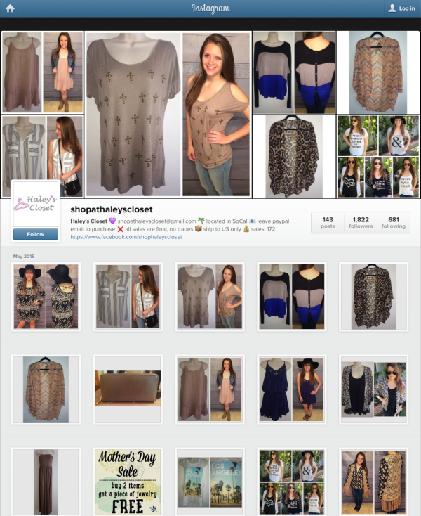 A Simple Guide To Selling Your Clothes On Instagram Success
