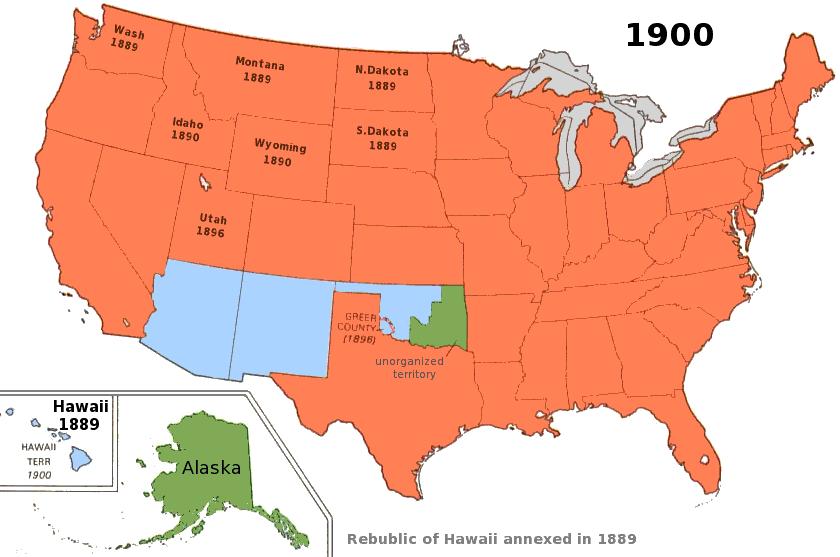 us territory 1900 | History Museum - USA 1900s | Pinterest ...