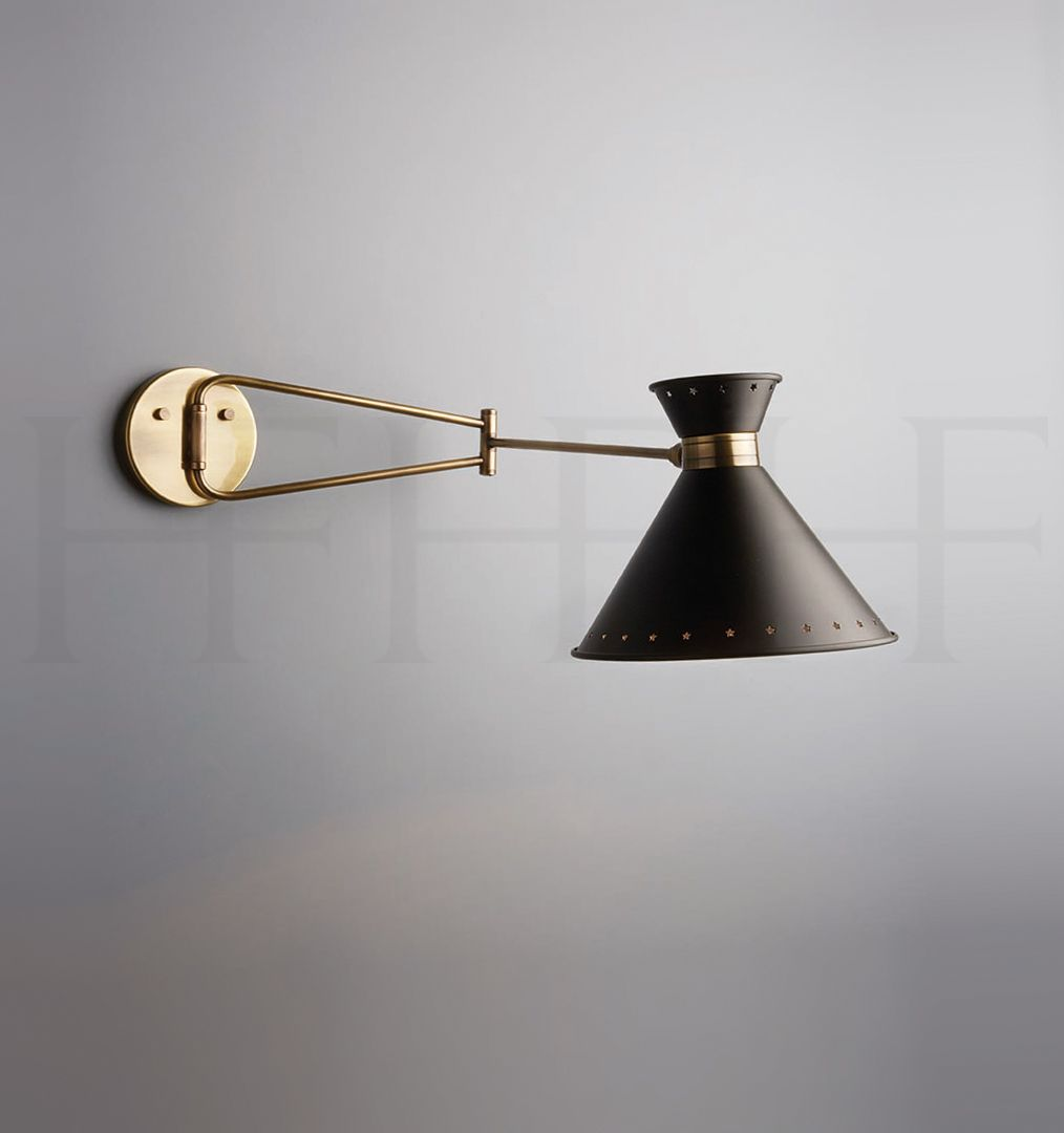 Hector finch tom swing arm wall light maybe upper guest lamps hector finch tom swing arm wall light maybe upper guest mozeypictures Choice Image
