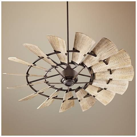 60 Quorum Windmill Oiled Bronze Damp Rated Ceiling Fan 11f45 Lamps Plus Bronze Ceiling Fan Ceiling Fan Ceiling Fan Design