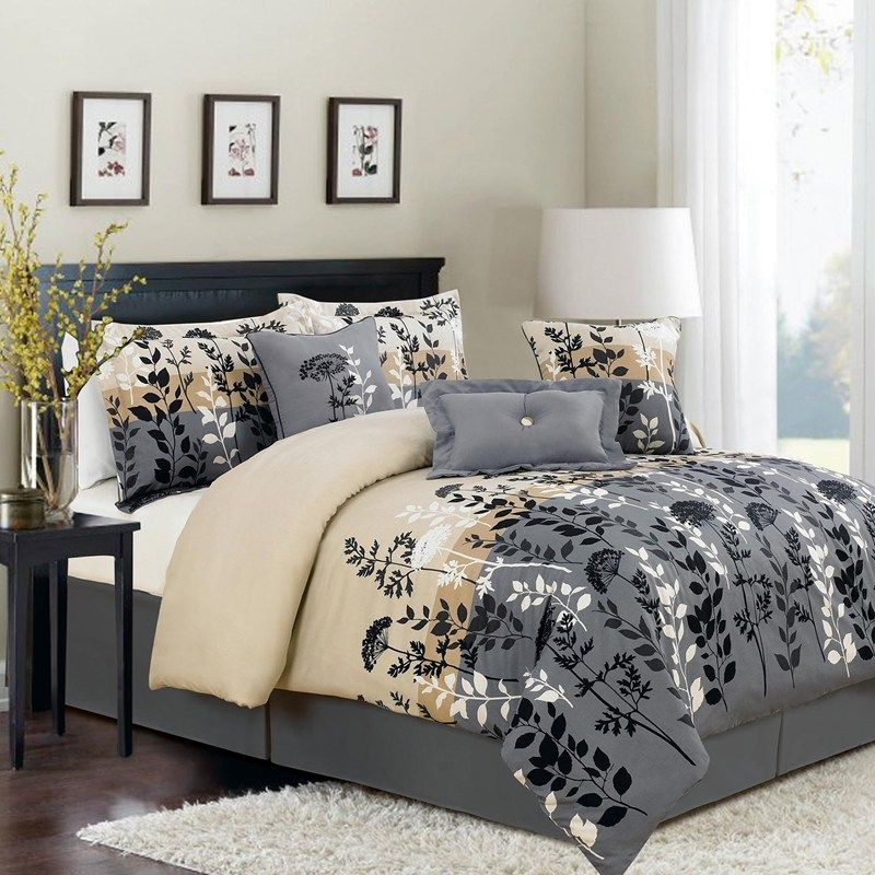 King Size Bed In A Bag Sets Clearance Bedroom Comforter Sets