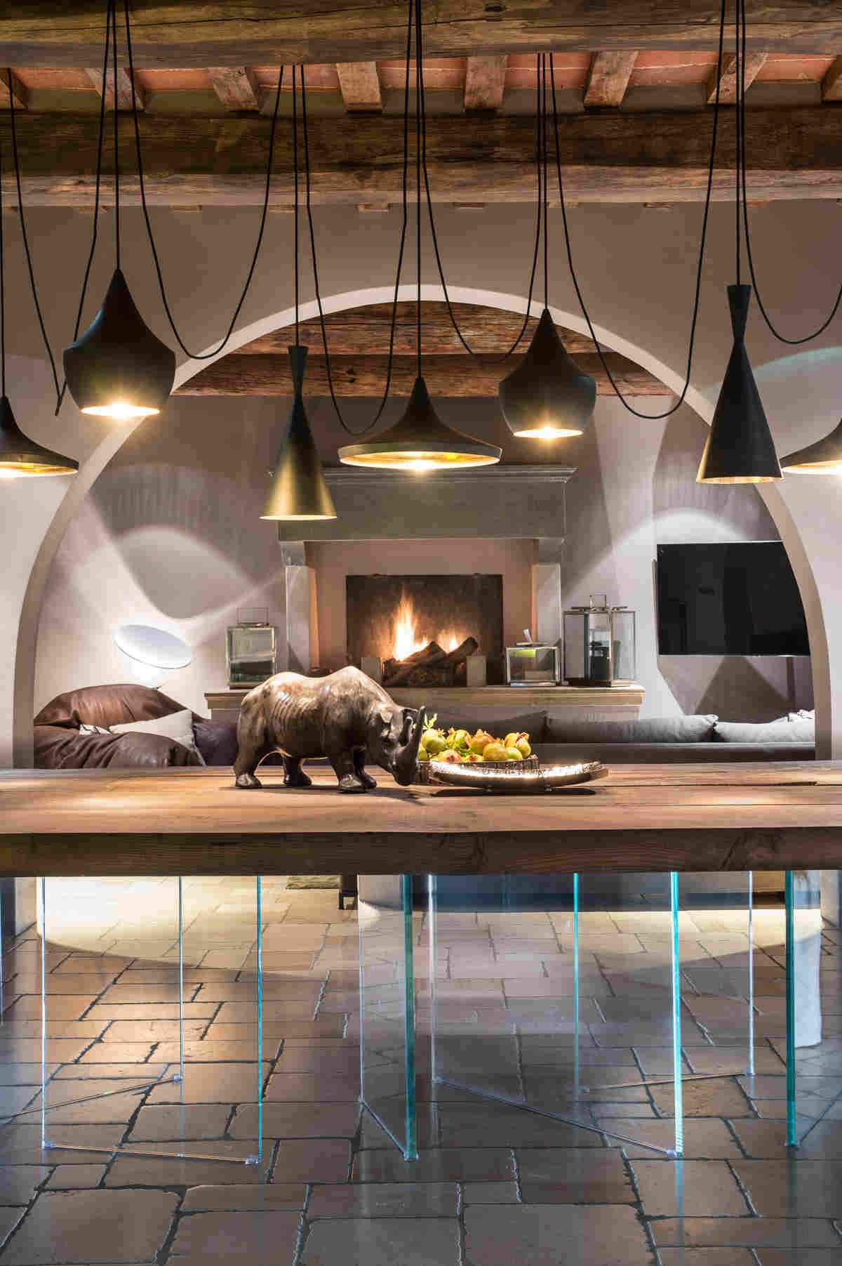 Чувственный интерьер дома в итальянской глубинке