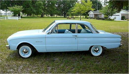 1963 Falcon 2dr Difference In Rear Windows Ford Falcon Ford Classic Cars Ford