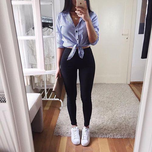 No Sabes Cómo Vestir Para Una Primera Cita Te Damos Unas Ideas Vêtements Stylés Tenues Mode Tenue D écolier