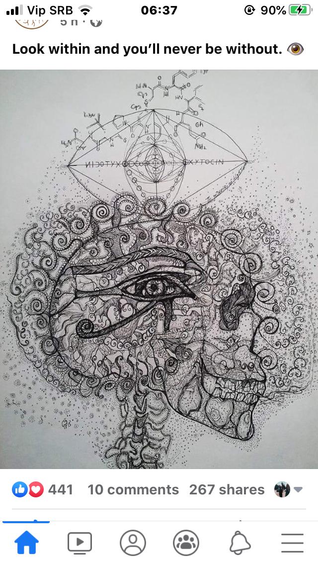 Pin By Vanja Stokic On Dm Geometric Tattoo Geometric States Of Consciousness