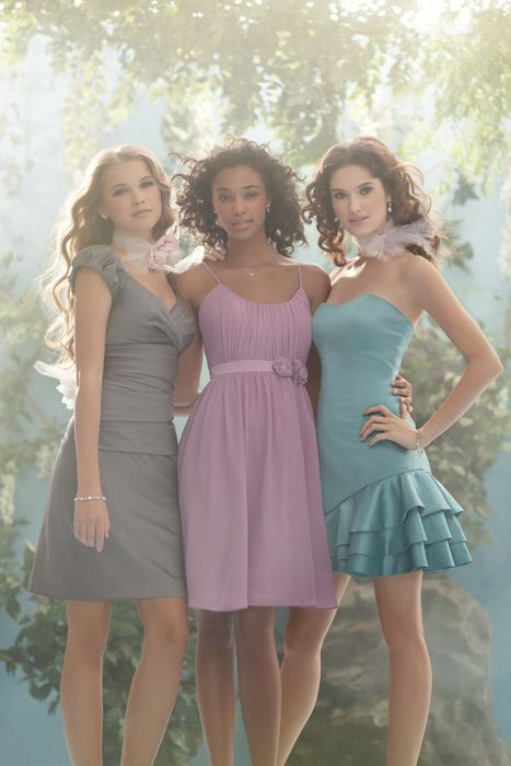 Disney Bridesmaid Dresses By Alfred Angelo Styles 504 506 And 507