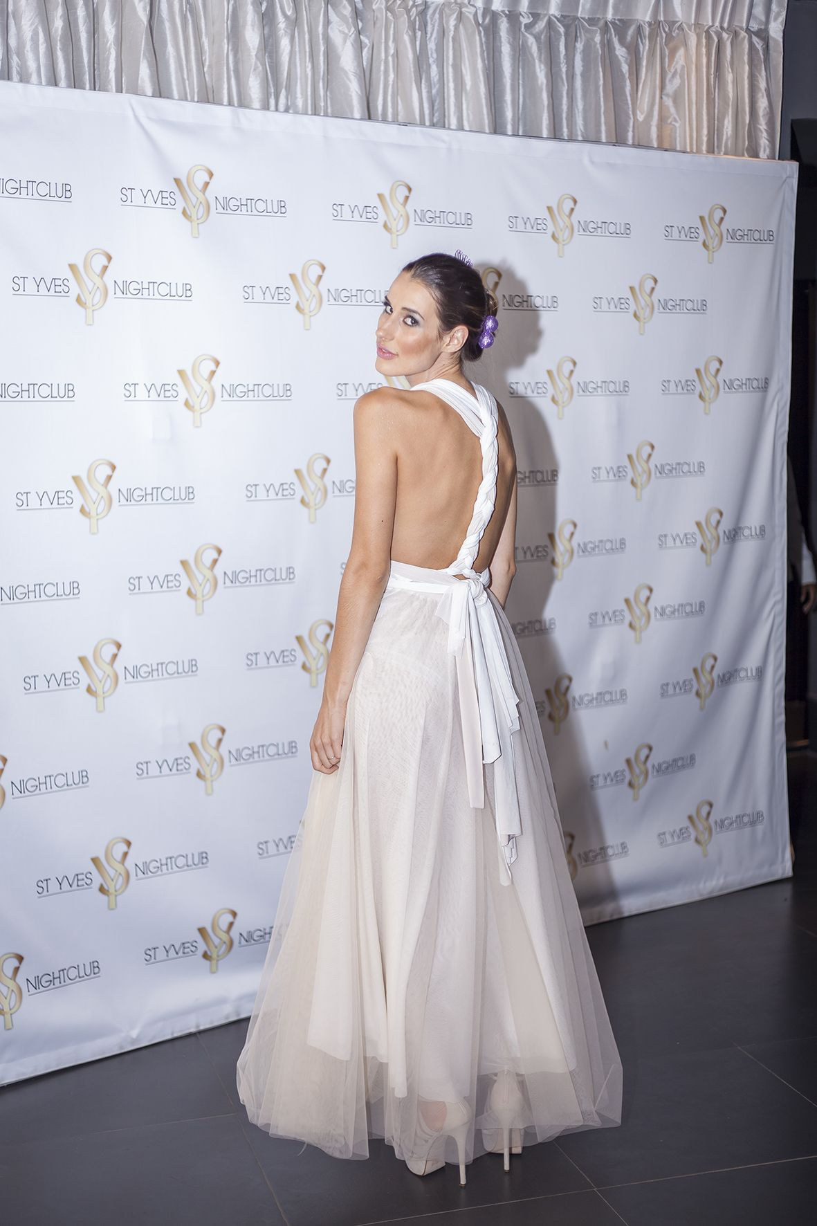 Champagne Infinity Dress South Africa with Tulle Skirt