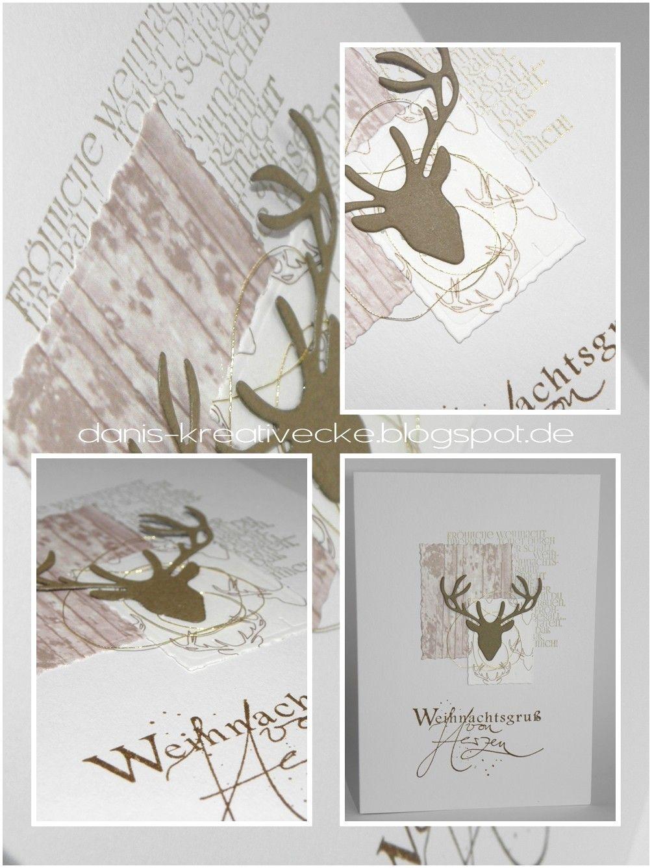 Dani\'s Kreativecke: Weihnachskarte - die 13. | Weihnachtskarten ...
