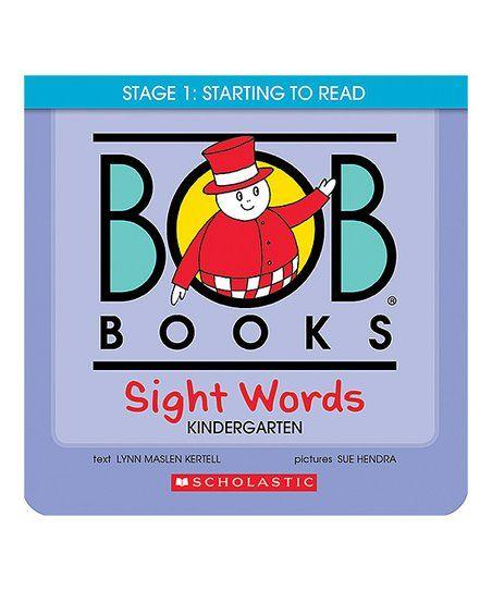 Scholastic Bob Books Sight Words Kindergarten Paperback Book Set Zulily Sight Words Kindergarten Bob Books Sight Words